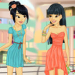 Play Game Sisters Shopping