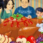 Play Game Inviting Thanksgiving