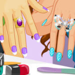 Play Game Manicure Party