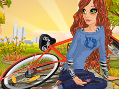 Play Game Cycle Accident