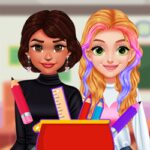 Play Game BFFs What's In My #PencilCase Challenge