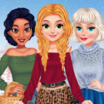 Play Game BFFs Winter Outfits Design