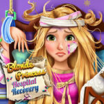 Play Game Blonde Princess Hospital Recovery