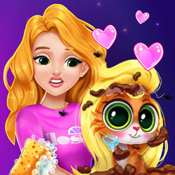 Play Game Blonde Princess Kitty Rescue