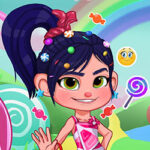 Play Game Candyland Dress Up