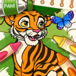 Play Game Color Me Jungle Animals