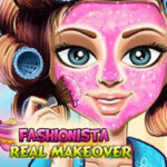 Play Game Fashionista Real Makeover