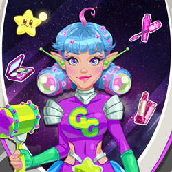 Play Game Galaxy Girl Real Makeover