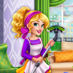 Play Game Girls Fix It: Audrey Spring Cleaning