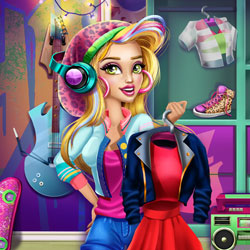 Play Game Gwen's Holiday Closet