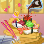 Play Game Happy Sushi Roll