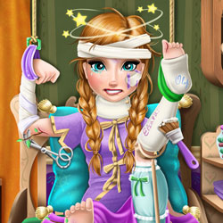 Play Game Ice Princess Hospital Recovery