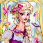 Play Game Ice Queen Art Deco Couture
