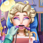 Play Game Ice Queen Real Dentist