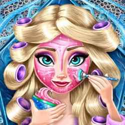 Play Game Ice Queen Real Makeover
