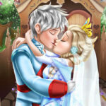 Play Game Ice Queen Wedding Kiss