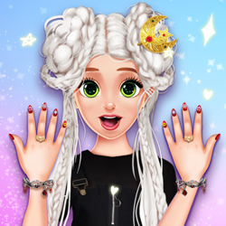Play Game Influencer Nails Art Challenge
