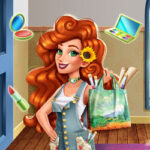 Play Game Jessie's Van Gogh Couture