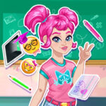 Play Game Moody Ally Back to School