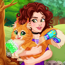 Play Game Olivia Adopts a Cat