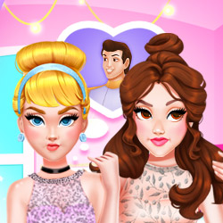 Play Game Princesses Best #Rivals