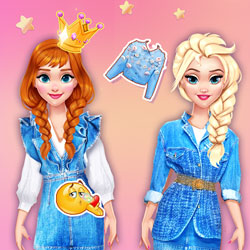 Play Game Princesses Cool #Denim Outfits