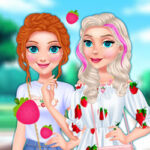 Play Game Sisters Strawberry Outfits