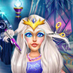 Play Game Snow Queen Real Haircuts