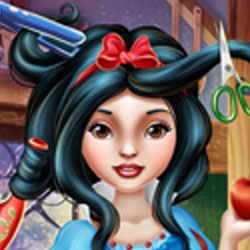 Play Game Snow White Real Haircuts