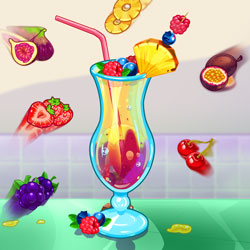Play Game Summer Fresh Smoothies