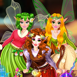 Play Game Winter Fairy Fashion Show