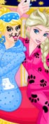 Play Princess Slumber Party Funny Faces Game
