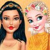 Dress Up Game: Autumn Trends: Braids Hairstyles