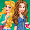 Dress Up Game: Beauty New Girl In School