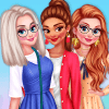 Dress Up Game: BFFs Walking In The Park