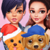 Dress Up Game: Celebrity Puppies