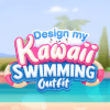 Dress Up Game: Design My Kawaii Swimming Outfit