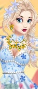 Play Floral Outfit For The Princess Game