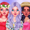 Dress Up Game: Girly Summer Patterns