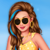 Dress Up Game: Holiday At The Seaside