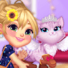 Dress Up Game: Cute Kitty Care