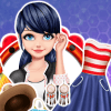 Dress Up Game: Marinette Travels To US