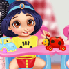Dress Up Game: Messy Baby Princess Cleanup