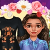 Dress Up Game: Moana Floral Crush