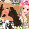 Dress Up Game: Moana's Garden Party