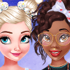Dress Up Game: Princesses Bow Hairstyles
