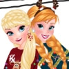 Dress Up Game: Sisters Ugly Xmas Sweater